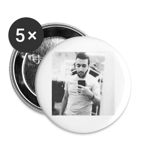Ahmad Roza - Buttons small 1'' (5-pack)