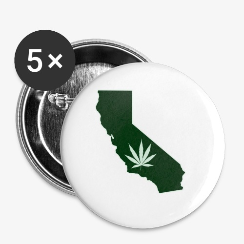 weed - Buttons small 1'' (5-pack)