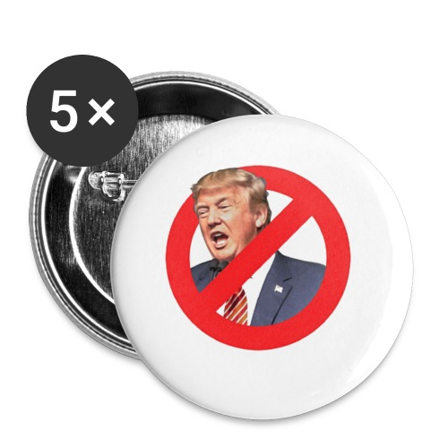blog stop trump - Buttons small 1'' (5-pack)