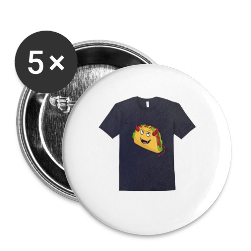 evil taco merch - Buttons small 1'' (5-pack)