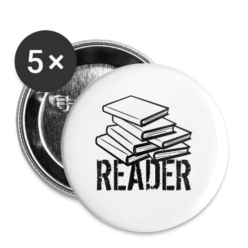 reader - Buttons small 1'' (5-pack)