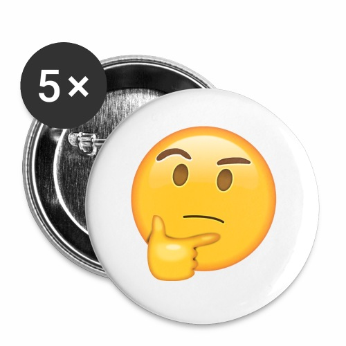 Thinking Face - Small Buttons