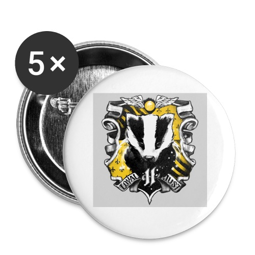 hufflepuff - Buttons small 1'' (5-pack)