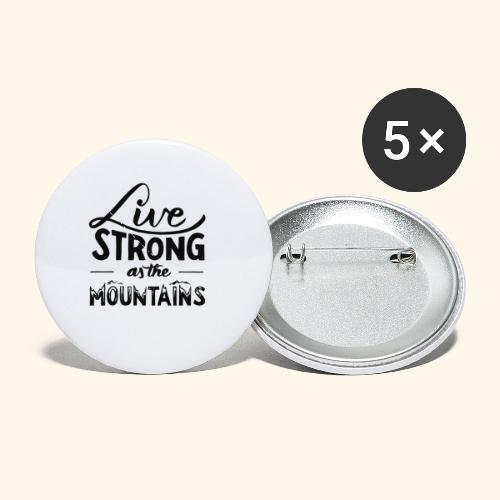 LIVE STRONG - Buttons small 1'' (5-pack)