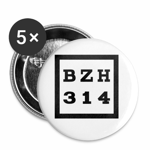 BZH314 Games Big Logo - Buttons small 1'' (5-pack)