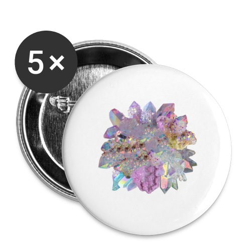 CrystalMerch - Buttons small 1'' (5-pack)
