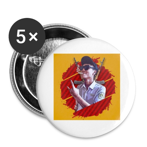 smoke - Buttons small 1'' (5-pack)