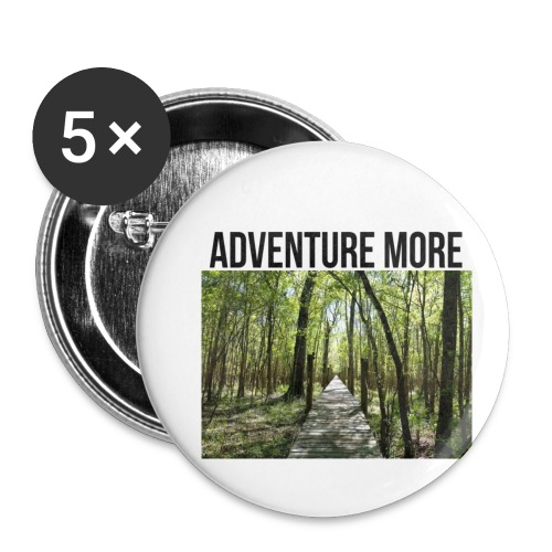 adventure more - Buttons small 1'' (5-pack)