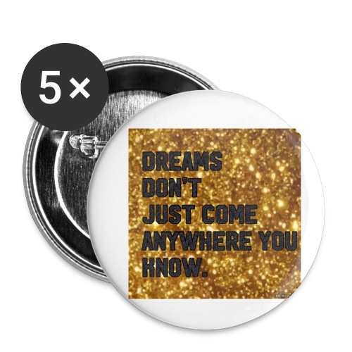 dreamy designs - Buttons small 1'' (5-pack)