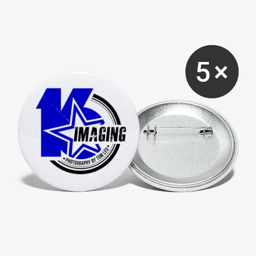 16IMAGING Badge Color - Buttons small 1'' (5-pack)