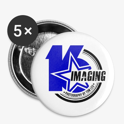 16 Badge Color - Buttons small 1'' (5-pack)