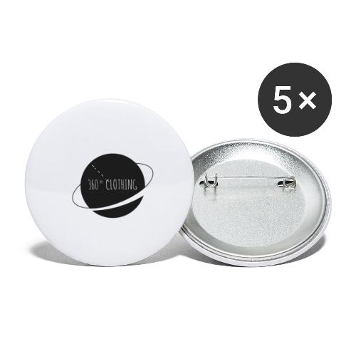 360° Clothing - Buttons small 1'' (5-pack)