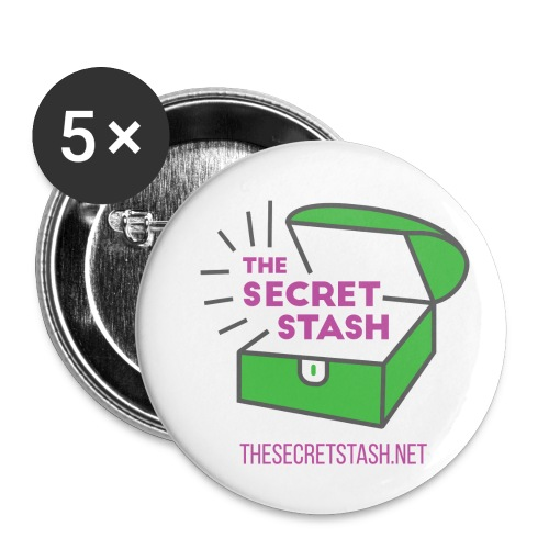 The Secret Stash - Small Buttons