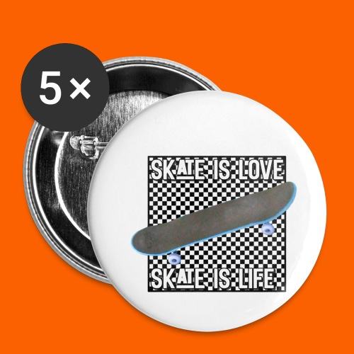 SK8 is Love - Buttons small 1'' (5-pack)