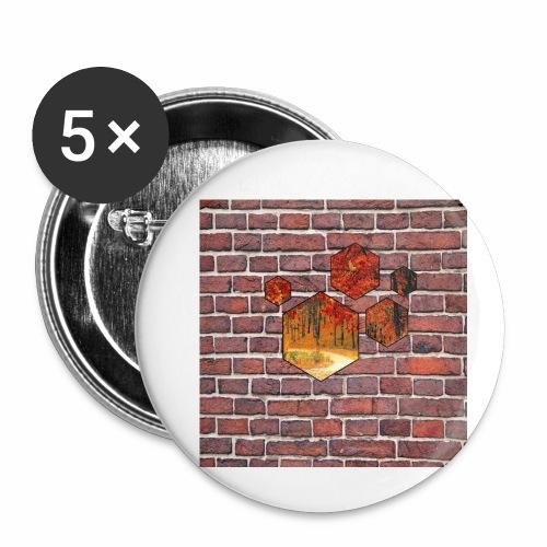 Wallart - Buttons small 1'' (5-pack)