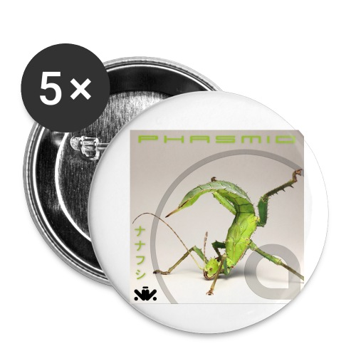 Phasmid EP - Buttons small 1'' (5-pack)
