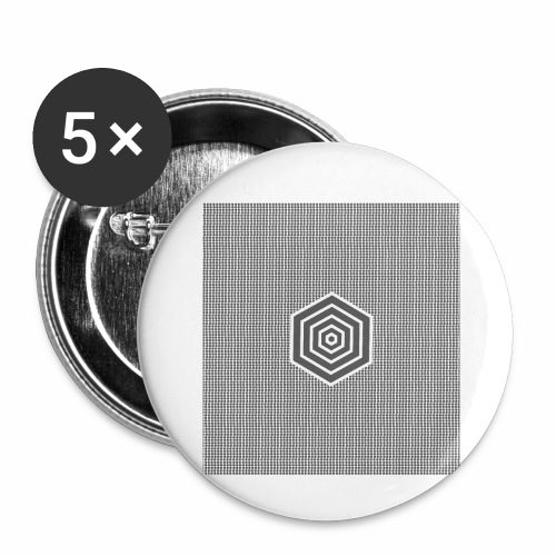 Sextagon - Buttons small 1'' (5-pack)