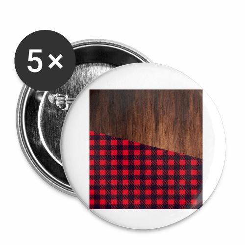 Wooden shirt - Buttons small 1'' (5-pack)
