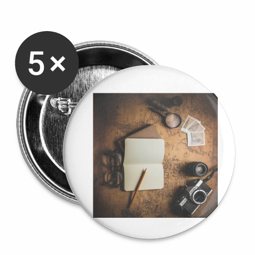 Traveller - Buttons small 1'' (5-pack)