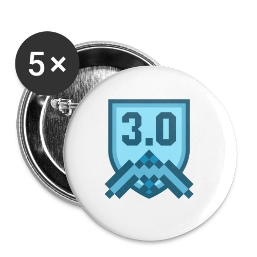 3.0 - Buttons small 1'' (5-pack)