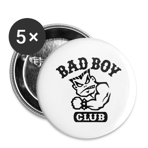 Badboy club - Buttons small 1'' (5-pack)
