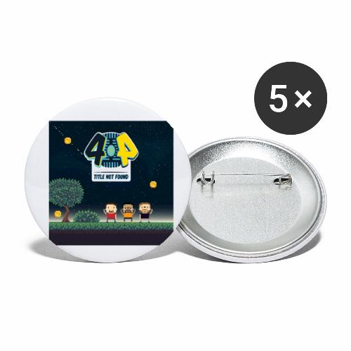 Logo and avatars - Buttons small 1'' (5-pack)