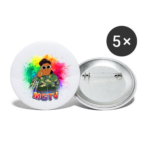 NEW MGTV Clout Shirts - Buttons small 1'' (5-pack)