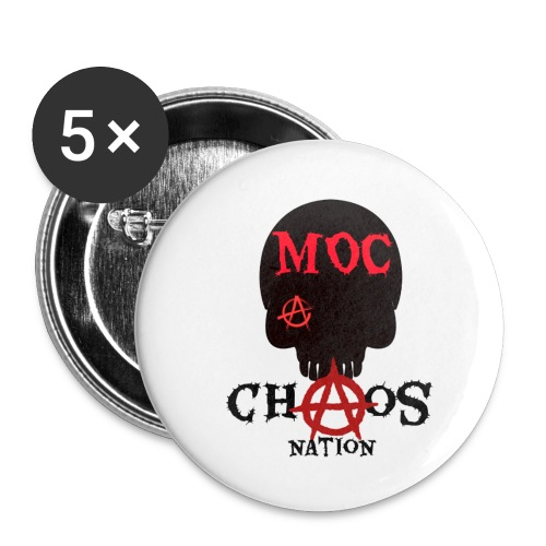 CHAOS NATION - Small Buttons
