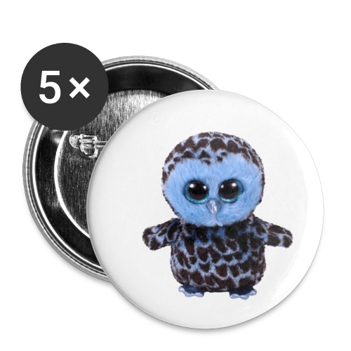 blue_hootie - Buttons small 1'' (5-pack)