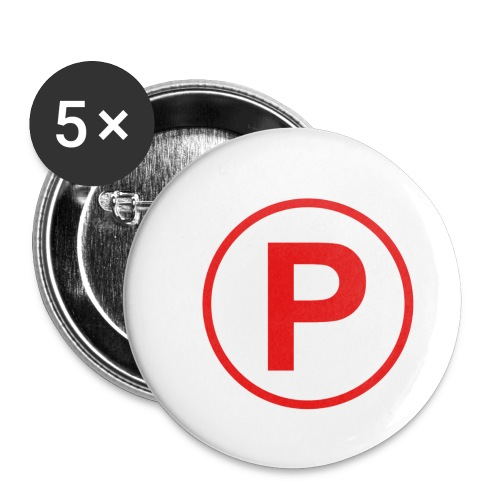 Presto569 Gaming Logo - Buttons small 1'' (5-pack)