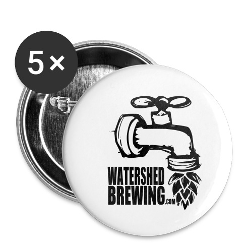Watershed Brewing Tap Hop - Buttons small 1'' (5-pack)