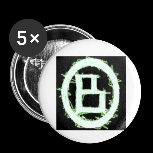 The BD Logo - Buttons small 1'' (5-pack)