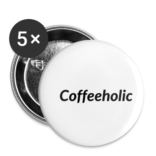 Coffeeholic line - Buttons small 1'' (5-pack)