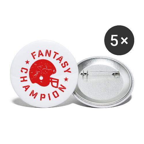 Fantasy Football Champion - Buttons small 1'' (5-pack)
