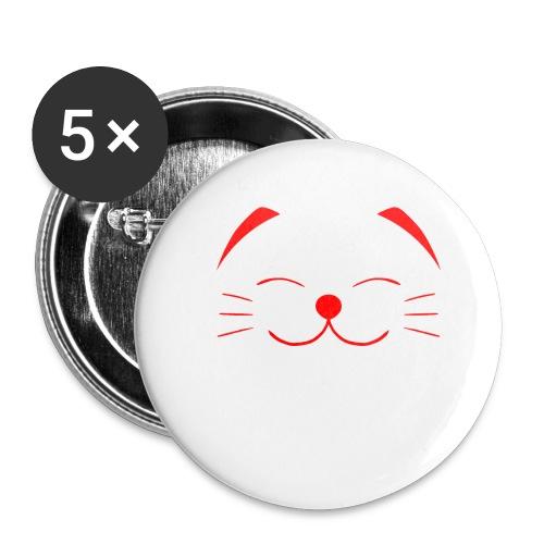 neko - Buttons small 1'' (5-pack)