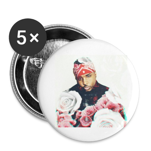 Bullet Rose Cover Album - Buttons small 1'' (5-pack)