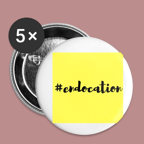 #endocation - Buttons small 1'' (5-pack)