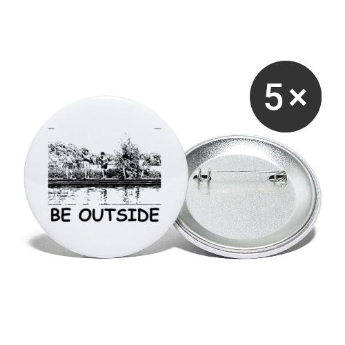 Be Outside - Buttons small 1'' (5-pack)