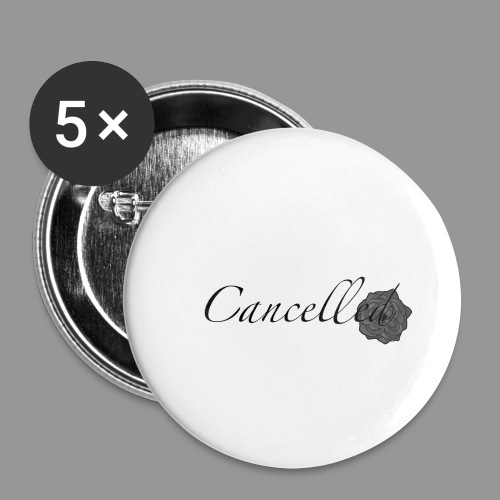 Cancelled - Buttons small 1'' (5-pack)