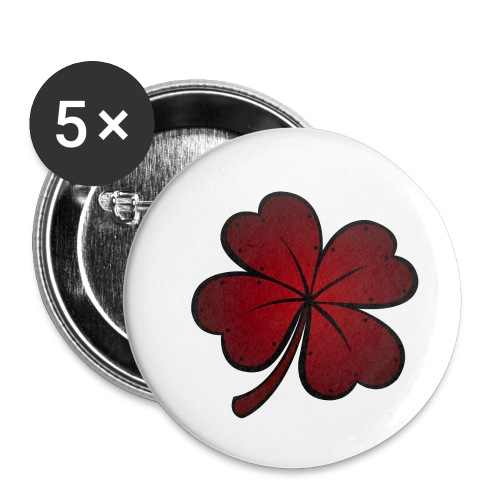 Tough Luck Logo Only - Buttons small 1'' (5-pack)