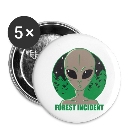 FOREST INCIDENT - Buttons small 1'' (5-pack)