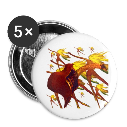 Rockin - Buttons small 1'' (5-pack)