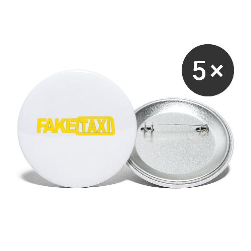 FAKE TAXI Duffle Bag - Buttons small 1'' (5-pack)