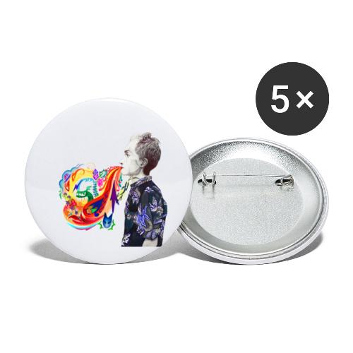 Breathe Cover Art - Buttons small 1'' (5-pack)