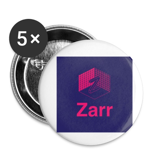 Zarr Logo - Buttons small 1'' (5-pack)