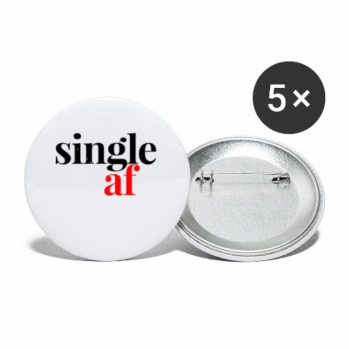 SINGLE AF - Buttons small 1'' (5-pack)
