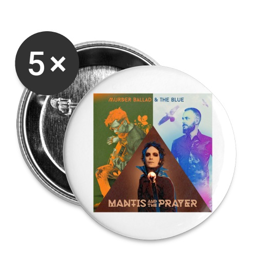 Murder Ballad & The Blue - Buttons small 1'' (5-pack)