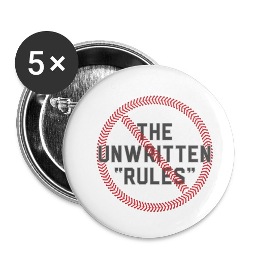 The Unwritten Rules - Buttons small 1'' (5-pack)