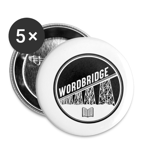 WordBridge Conference Logo - Buttons small 1'' (5-pack)