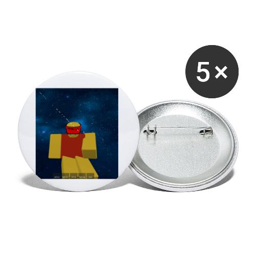 Space noob pack - Buttons small 1'' (5-pack)